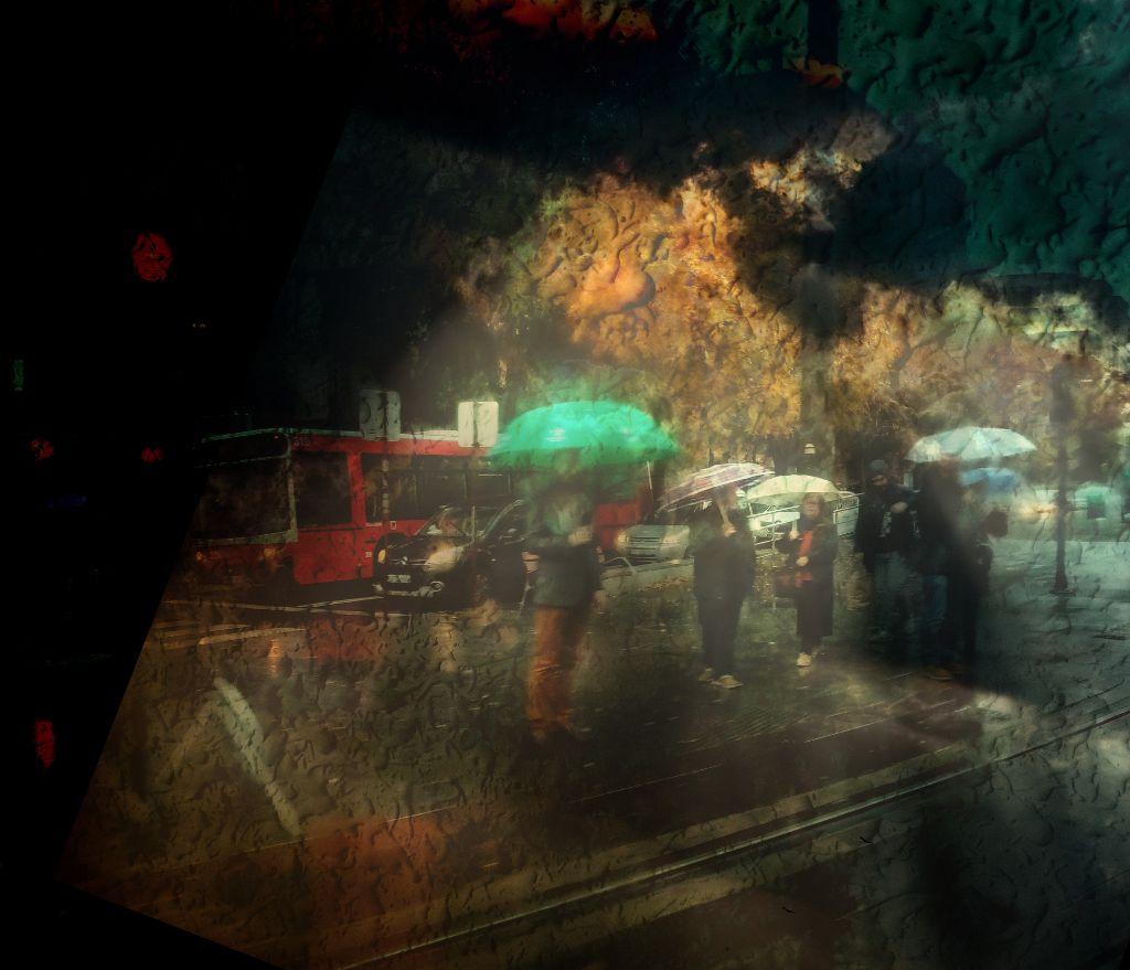 #rainyday #thetube #colorful