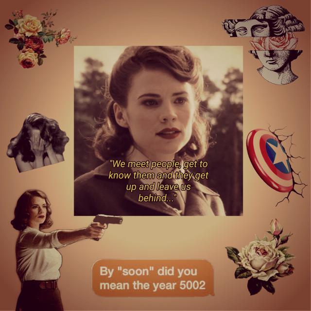 peggyyy 🤩 #mcu #marvel #agentcarter #peggycarter #shield #hayleyatwell #pleaselike #pleasefollow @isabela_zxm #freetoedit
