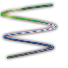 green blue red spiral aesthetic freetoedit