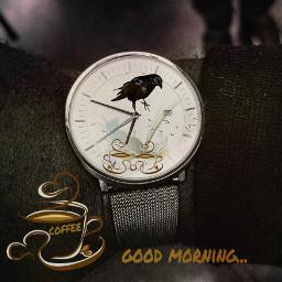 freetoedit papereffect art goodmorning coffee