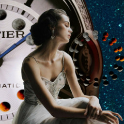 freetoedit moons clock clocks woman srcmooncycle
