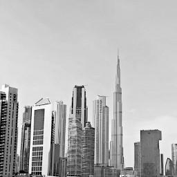 uae dubai skyline burjkhalifa