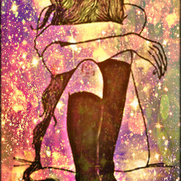 freetoedit glitter sparkle galaxy sadgirl