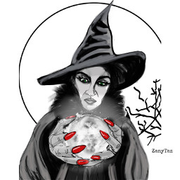 witch halloween october sketch drawing freetoedit