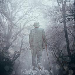 grey freetoedit man ghost memory
