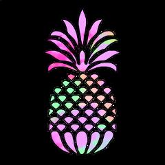 ftestickers pineapple fruit food colorful freetoedit