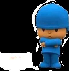 angry pocoyo freetoedit