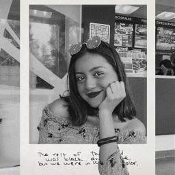 freetoedit polaroid quote text blackandwhite