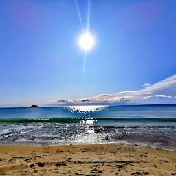 sea playa sunshine beautifulnature beautifulday