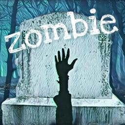 freetoedit zombie remix irchandsilhouette handsilhouette