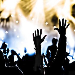 concert freetoedit irchandsilhouette handsilhouette
