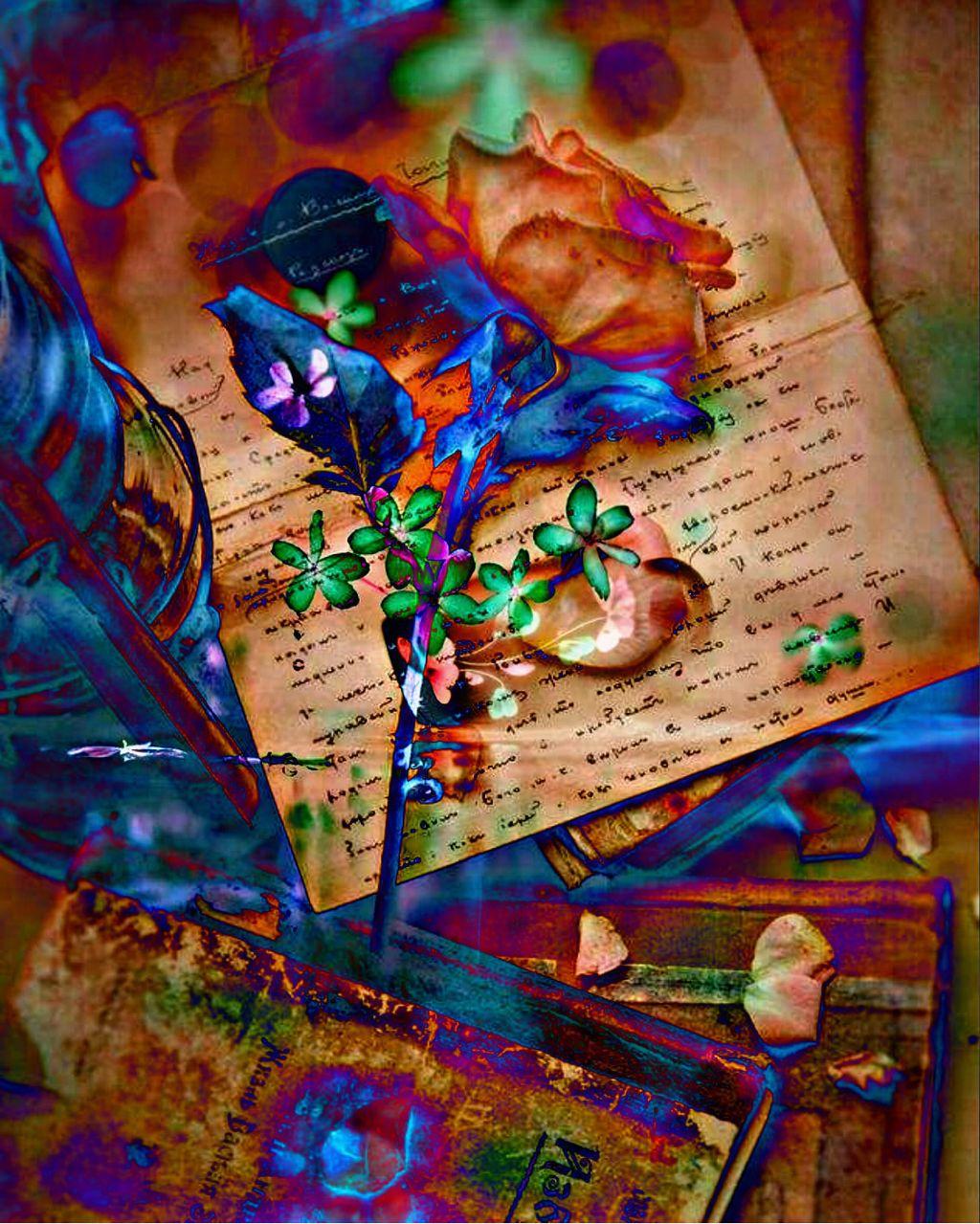 #freetoedit #doubleexposure #rose #rosepetals #flower #books #words #overlayeffect #darklight