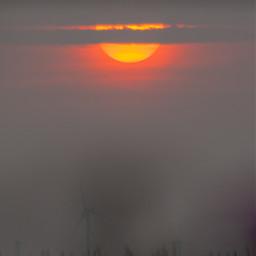 photography morning sky fog foggy freetoedit