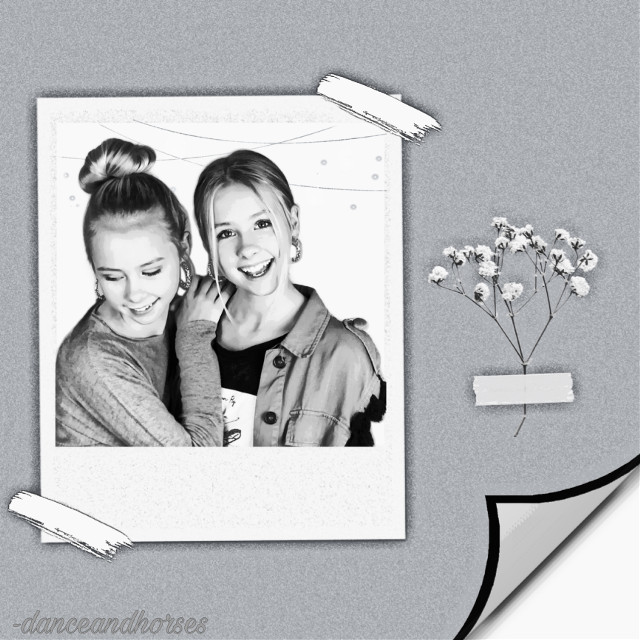 This is just a quick edit.... I have never made a iza and elle edit before but i really love them xx.... Comment if u love iza and elle... Elle is on the left and iza is on the right beacuse im 99.99% sure that iza has a longer face going longways ❣️❣️ #freetoedit