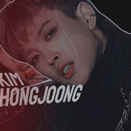 kimhongjoong hongjoong hongjoongedit kpop kpopedit freetoedit