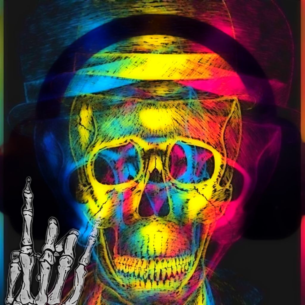 #freetoedit #fotoedit #picsartedit #skullhead #musicislife