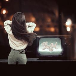 freetoedit stickerremix stickerchallenge retro irctelevisionday televisionday