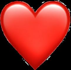 freetoedit heart emoji heartemoji red