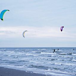 freetoedit outdoorphotography atlanticocean november windsurfing