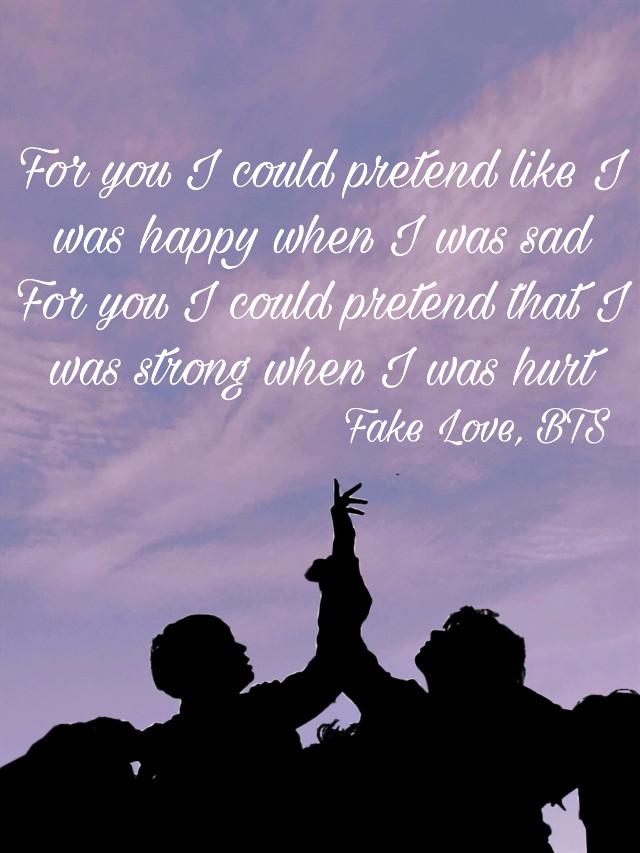 #freetoedit  im so sick of this fake love💔#bts #fakelovebts #kpop #bighit #music #heartbroken #fakelove #wingsbts