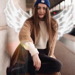 freetoedit wings aesthetic aesthetictext neon