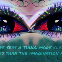 eyes vibrant mirroreffect quotesandsayings freetoedit