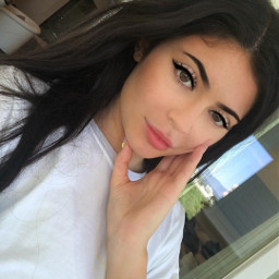 freetoedit girl kyliejenner kylie makeup