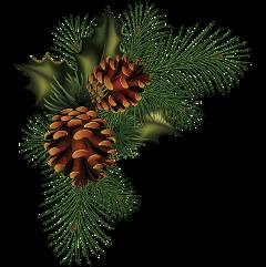 christmas pinecones freetoedit
