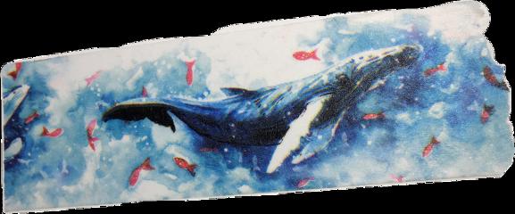 whale washitape washi ocean tape scrapbook freetoedit