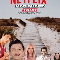 freetoedit memes netflix mariokart celebrities