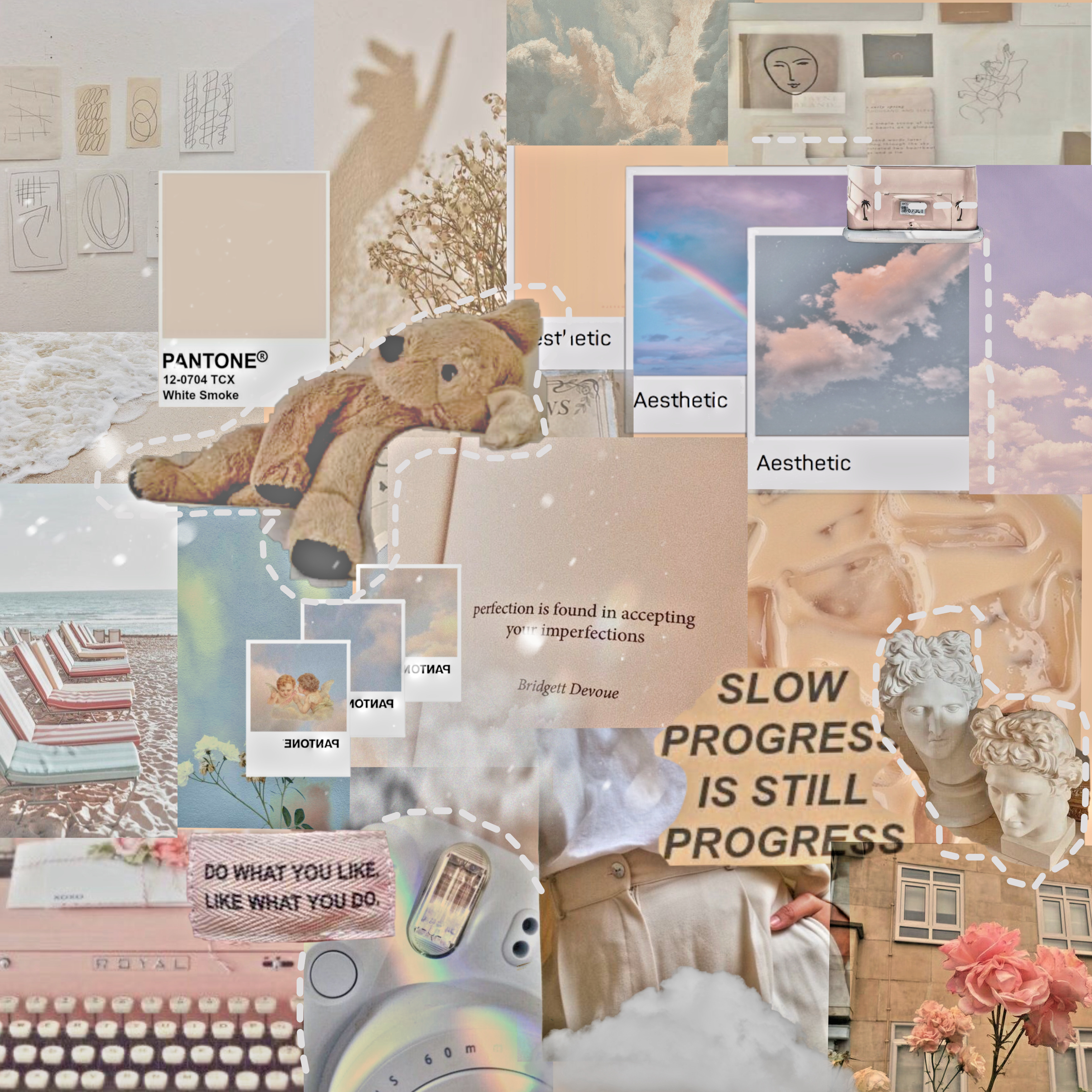 Aesthetic Cream Pastel Tumblr Image By Summerrrrrr