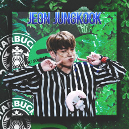 btsarmy bts btsjeonjungkookie greenaesthetic freetoedit