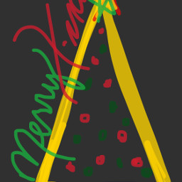 freetoedit christmas merryxmas text drawing dcoutlineart outlineart