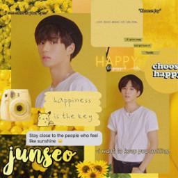 1the9 kpopedit junseo junseoedit yellow