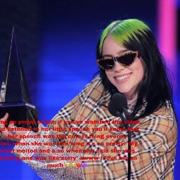 congratulations amas awards ilovehersomuch billieeilish