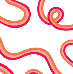 vsco outline backround pink orange freetoedit