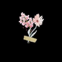 flower tape scrapbook sticker remix freetoedit