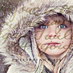 freetoedit girl coat hood furry