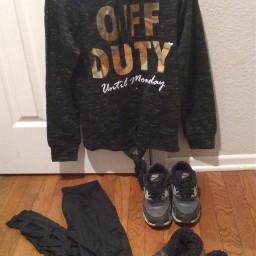 hoodie hoodiesarelife offduty black leggings freetoedit