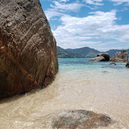 beach praia mar sea brazil freetoedit