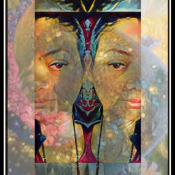 mirroreffect selfportrait edit colorful emotions