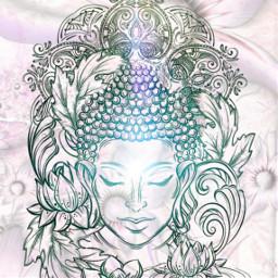 buddha light meditation freetoedit