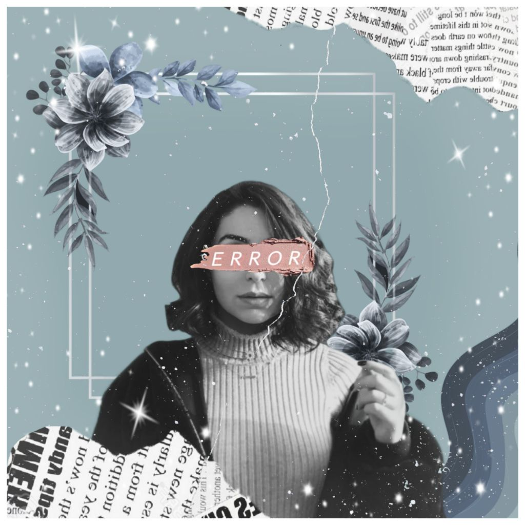 #freetoedit sth simple for today 😁 #edit #newspaper #paper #words #aesthetic #aesthetics #quote #flower #flowers #woman #girl #women #plants #blue #error #frame
