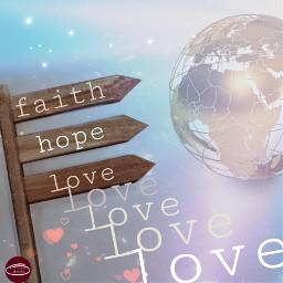 faith hope love hearts world freetoedit ircvintageaesthetic vintageaesthetic