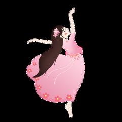 ftestickers girl dancer ballerina cute freetoedit