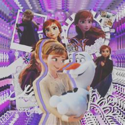 frozen frozenii frozen2 anna princess freetoedit