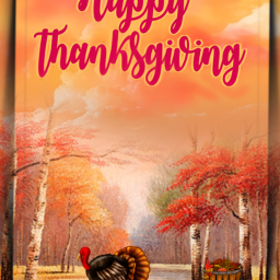 freetoedit thanksgiving turkey landscape trees fcthanksgiving