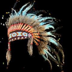 freetoedit headdress nativeamerican feathers tribe