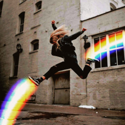 freetoedit arcoiris🌈 rainbow sonhos voe