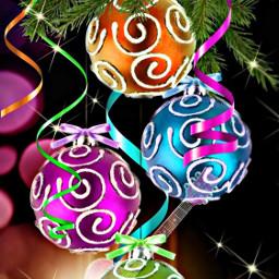 freetoedit guitar christmas ornaments bright